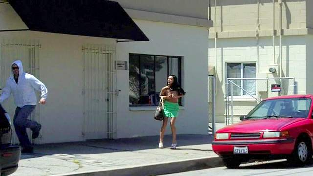 Brunette, Funny, Outdoor, Upskirt