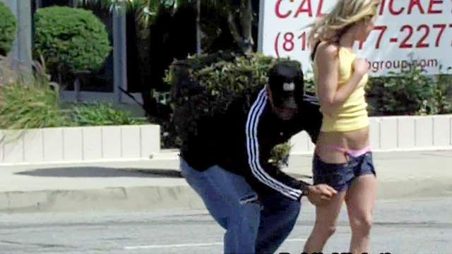 Funny, Outdoor, Panties, Public, Upskirt