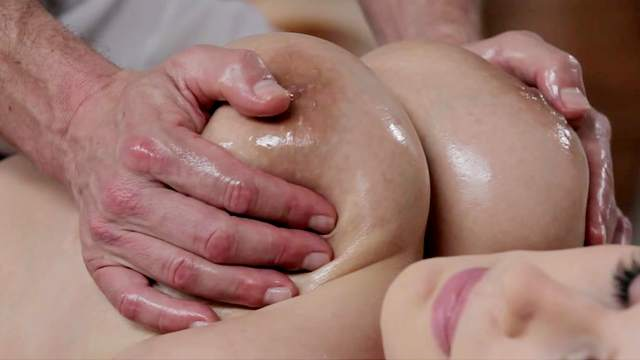 Angel was fucked by her personal masseur
