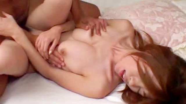 Cute Yui Sarina fuck with small-dicked Yui Hatano