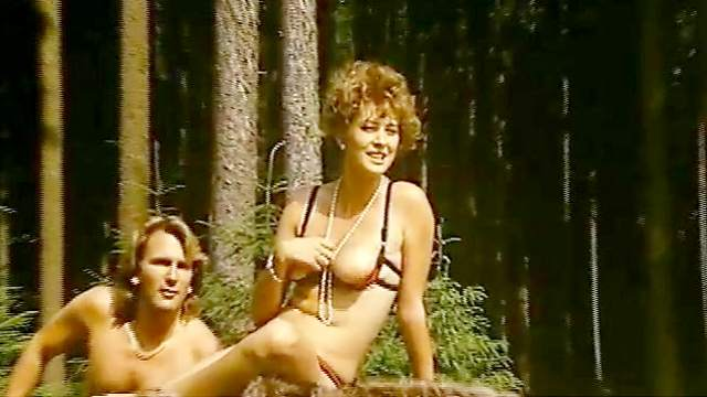 Blowjob, Brunette, Curly, Facial, Forest, Hardcore, Kitchen, Lingerie, MILF, MMF, Movie, Natural tits, Outdoor, Retro, Short hair, Standing, Story, Threesome, Uniform