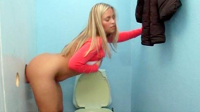 Natural-tit blonde Marketa gets fucked through the hole