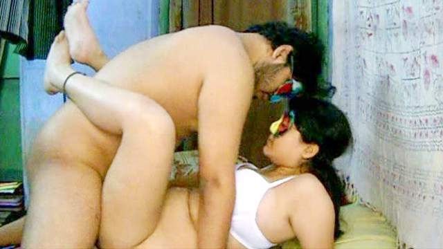 Savita is getting fucked by her fat friend