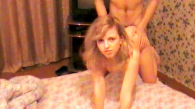 Blonde Kate fuck with force in amateur scene