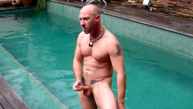 Anal, Cum, European, Masturbation, Pool, Pump, Tattoo