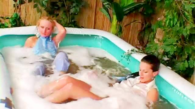 Babes, Blonde, Brunette, Clothed, Fetish, Swimming, Wet