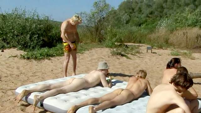 Beach, Camping, HD, Nudist, Outdoor, Pissing, Small tits, Teen