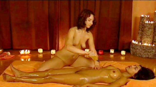 Fingering, Indian, Massage, Oil, Shaved pussy, Small tits