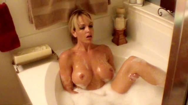 Amateur, Bathroom, Big tits, Blonde, Masturbation, Perfect body, Pornstar, Soapy, Solo