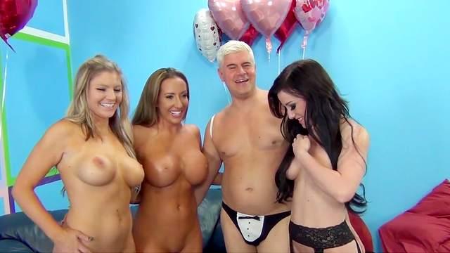 Richelle Ryan, Jennifer White, Brianna Brooks, Porno Dan