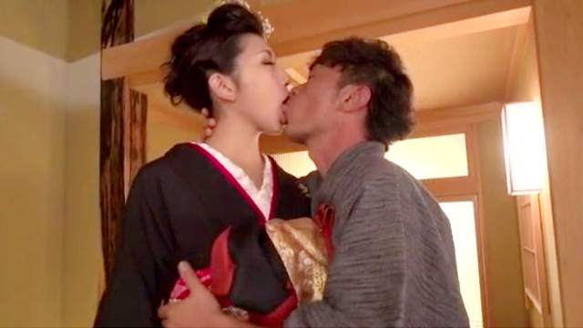 Jav woman hard fucked after insane home foreplay