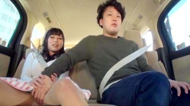 Amateur, Asian, Car, Fingering, Handjob, Japanese, Masturbation, Orgasm, Public, Reality, Teen
