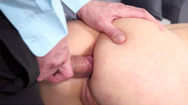 Sexy blonde loves feeling the dick up the ass