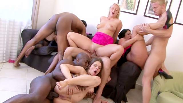 Brooklyn Lee, Colette, Defrancesca Gallardo, Mandy Saxo