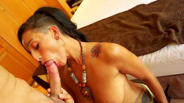 Bed, Blowjob, Cum in mouth, Doggy style, Hotel, Italian, MILF, Moaning, Natural tits, Ponytail, Pornstar, Reverse cowgirl, Rimjob, Shaved pussy, Spread legs, Thong
