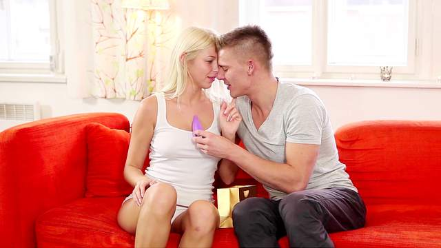 Lovely oral foreplay leads the naughty blonde to fuck in insane modes