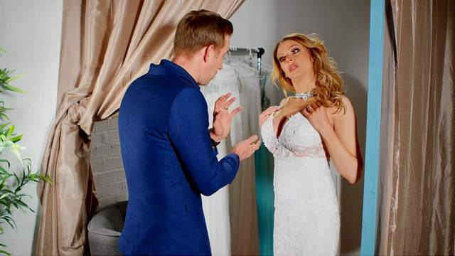 Cougar mom fucks with the son-in-law before the wedding