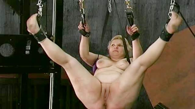 BDSM, Fat, Granny, Guillotine, HD, Pussy licking