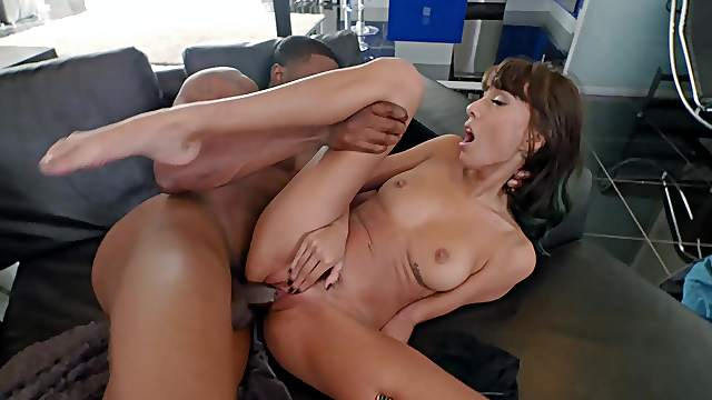 Man's black cock fits her snatch like it should