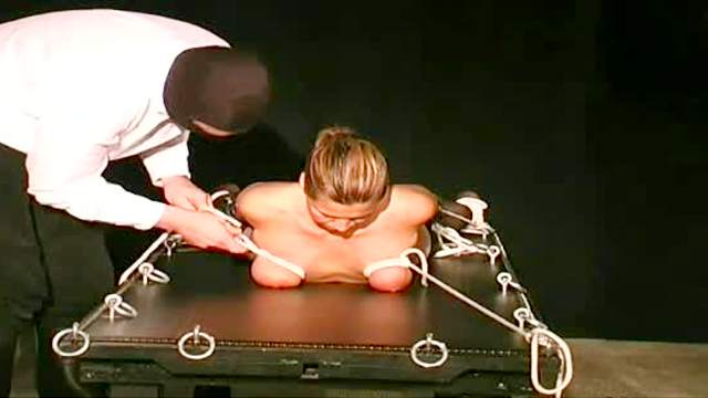 BDSM, Bondage, Guillotine, Mature, Mom, Stockings