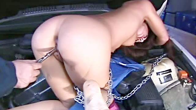 Ass, BDSM, Chinese, Domination, Forced orgasm, HD, Redhead, Small tits, Toys