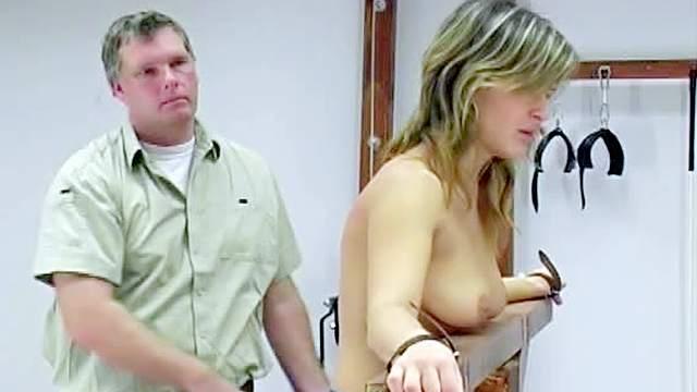 Babes, BDSM, Blonde, Bondage, Boots, HD, Maledom, Natural tits, Torture, Whip