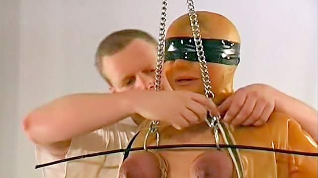 BDSM, Blindfold, Bondage, Chinese, HD, Latex, Maledom, Punishment, Torture
