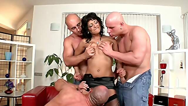 Mature ass fucked by younger males with endless cocks