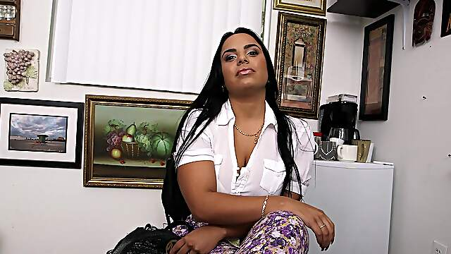 Sweet Latina Sofia Char gets fucked hard at casting from commercial
