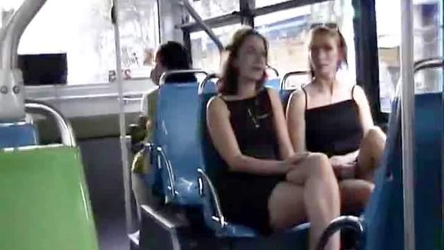 Bus, Dress, Flashing, Mature, Mom, Upskirt