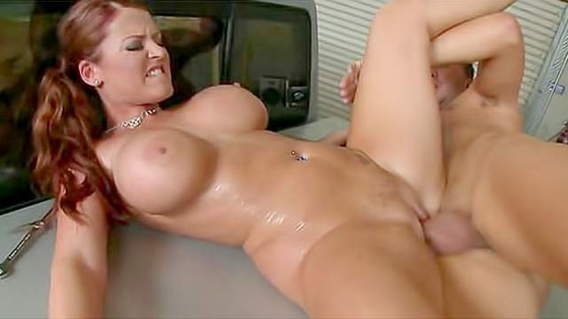 Hot Nude sophie dee shaved pussy