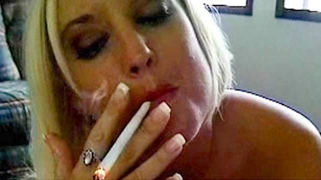 Pov Blonde Blowjob Swallow