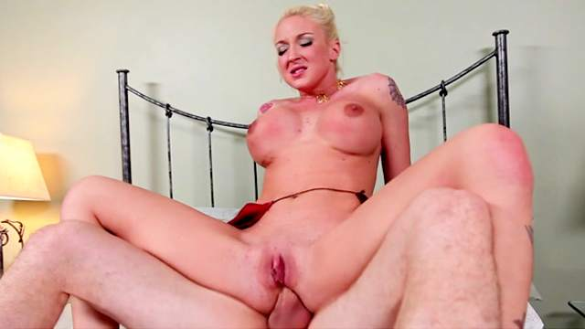 Sexy hottie Leya Falcon being drilled in mouth by Jordan Ash