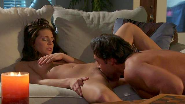 Gracie Glam is riding on the long dick