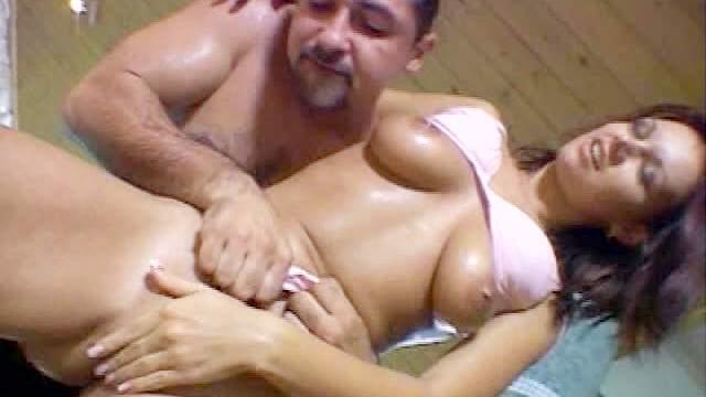 Screwing a hot slut poolside