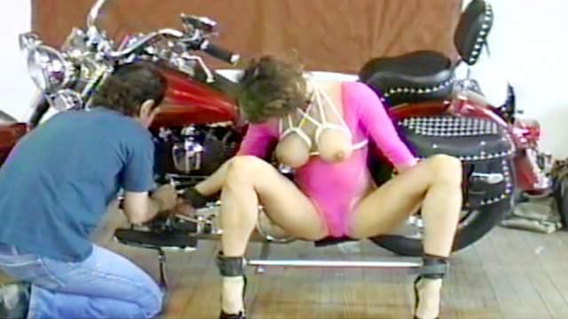 BDSM, Bondage, Pain, Rope, Spanking, Tits torture, Torture