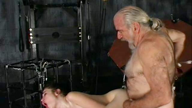 Abused, BDSM, Cage, Dildo, Domination, Hardcore, Old and young