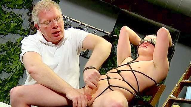 Brett Wright gives a nasty blowjob Sebastian Kane